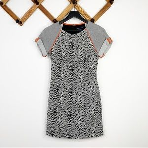 FRENCH CONNECTION aminal instincts mini dress✨6